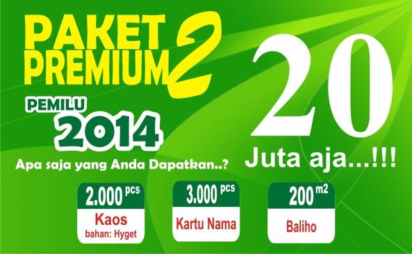 Paket Premium Caleg 2